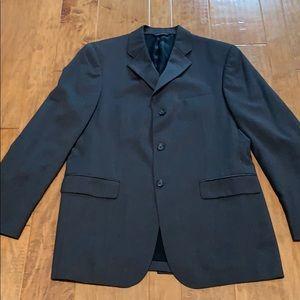 Banana Republic men's grey wool blazer